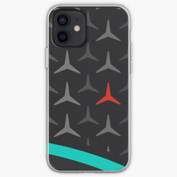 Mercedes F1 racing 2021 iPhone Soft Case
