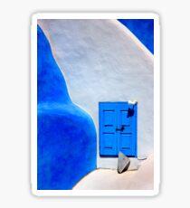 Greek minimalism Sticker