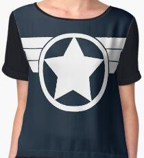 Super Soldier Women's Chiffon Top