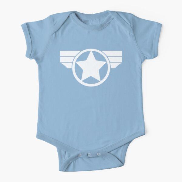 Super Soldier Short Sleeve Baby One-Piece