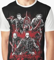 Legends of Horror Graphic T-Shirt