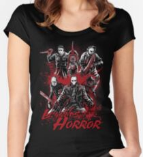 Legends of Horror Women's Fitted Scoop T-Shirt