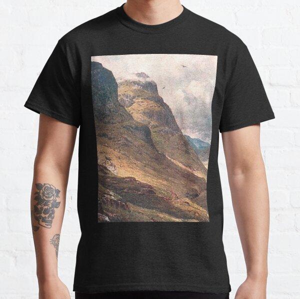 Vintage Illustration of Glencoe, Scottish Highlands Classic T-Shirt