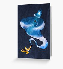 Greater than all the magic Greeting Card