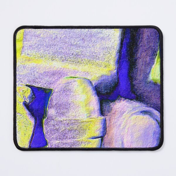 Bright Objects Still Life Mouse Pad