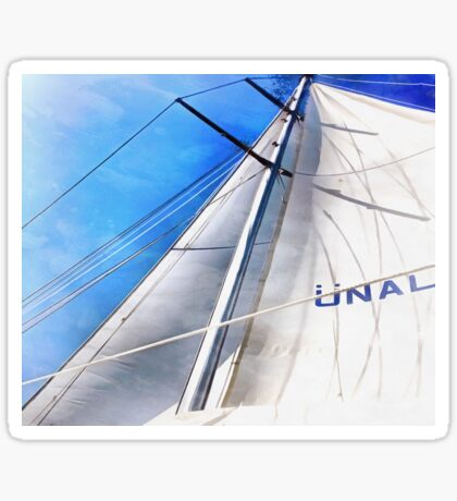 Keep The Wind In Your Sails Sticker
