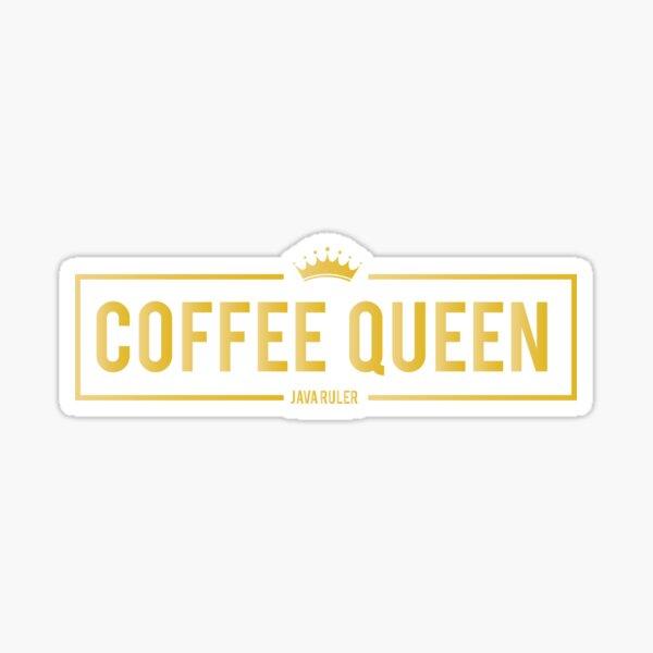 Coffee Queen Sticker