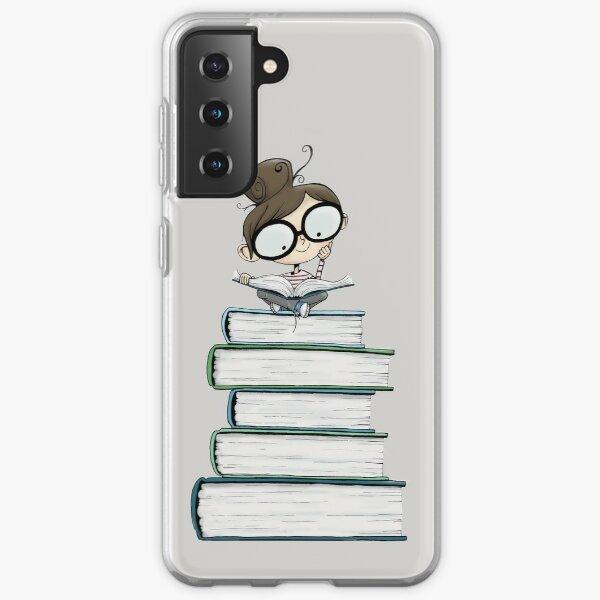 Itty Bitty Book Lover  Samsung Galaxy Soft Case