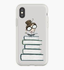 Itty Bitty Book Lover  iPhone Case