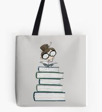 Itty Bitty Book Lover  Tote Bag