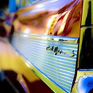 HAPPY FATHER'S DAY : Red 57 Chevy - Bel Air by Splendiferous Images