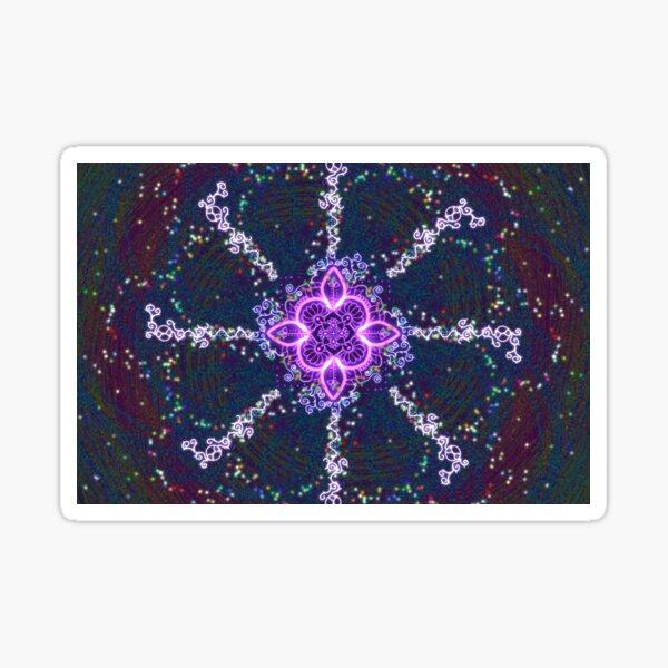 Starlight Mandala Sticker