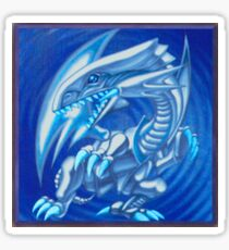 Blue eyes white dragon Sticker