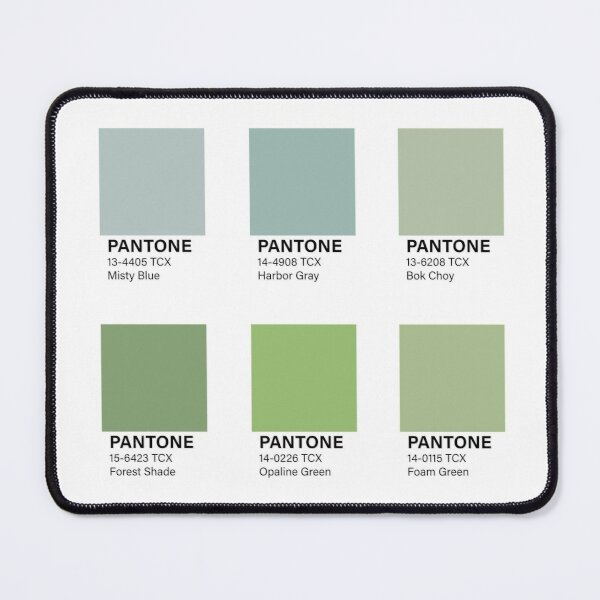 PANTONE color set Mouse Pad