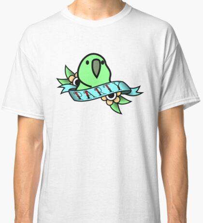 Party Parrot Vintage Tattoo Classic T-Shirt