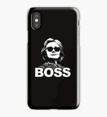 "Hillary Clinton ""Boss"" iPhone Case/Skin"
