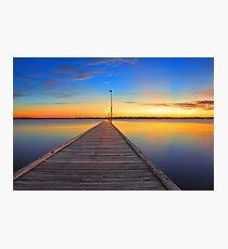 Como Jetty - Western Australia  Photographic Print