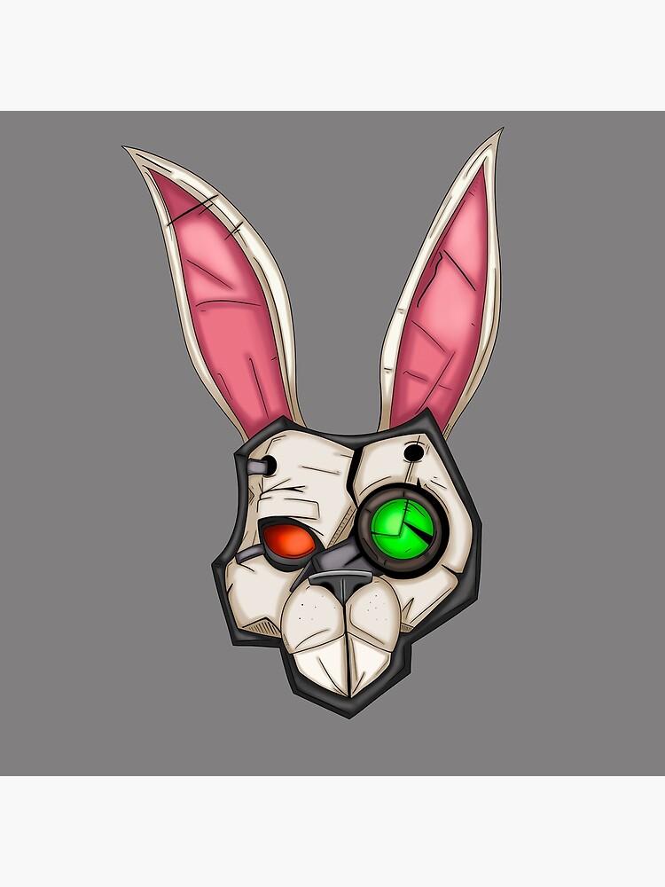 Borderlands Tiny Tina Bunny Mask by CaptainShivers