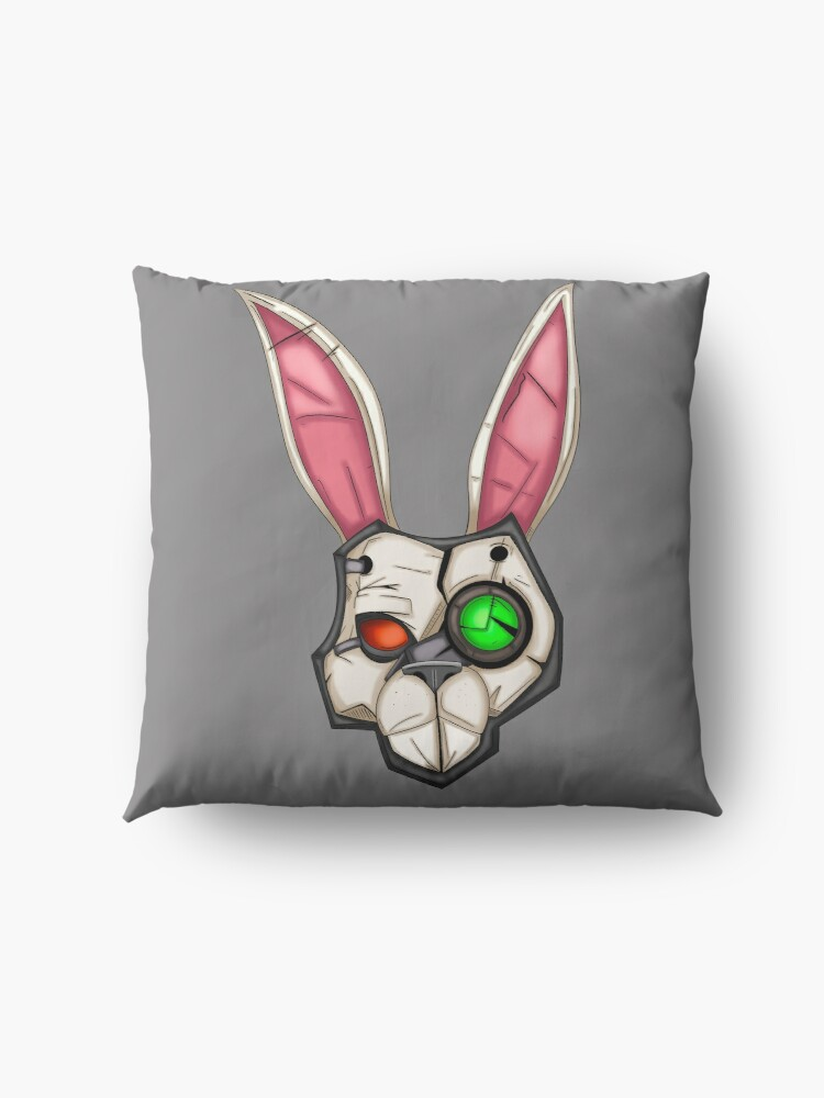 Alternate view of Borderlands Tiny Tina Bunny Mask Floor Pillow