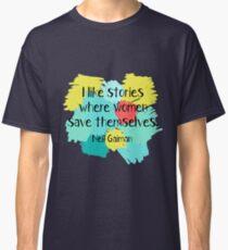 Neil Gaiman (feminist at heart) Classic T-Shirt