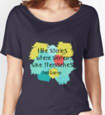 Neil Gaiman (féministe au coeur) T-shirts coupe relax