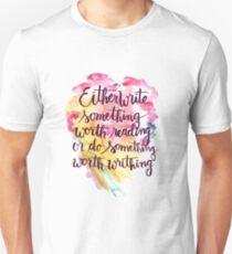 Benjamin Franklin Quote Unisex T-Shirt