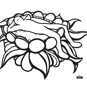 KIN - SLEEPING FLOWER by kinlevoyageur