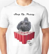 Harambe Beer Pong Step Up T-Shirt