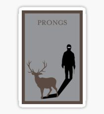 Prongs Sticker