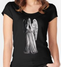 Weeping Angel - Don't Blink Women's Fitted Scoop T-Shirt