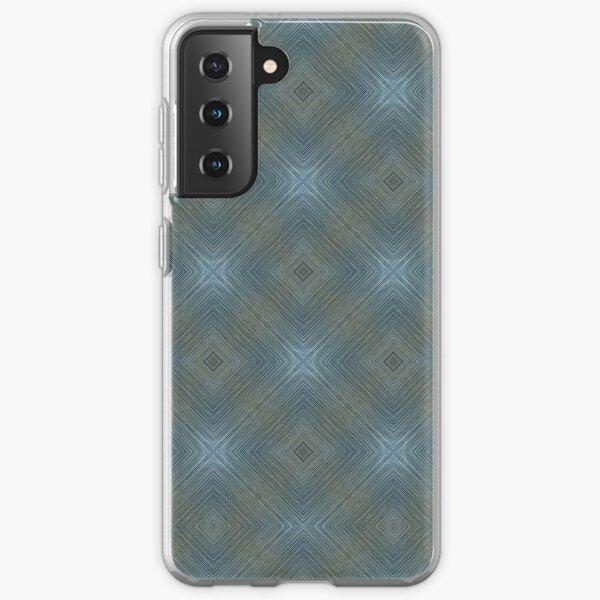 Soft Blue Pattern Samsung Galaxy Soft Case