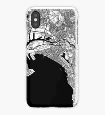 Melbourne Map iPhone Case