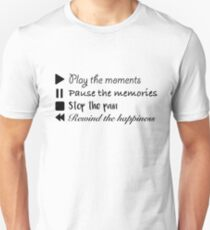 Music Life Quote Unisex T-Shirt
