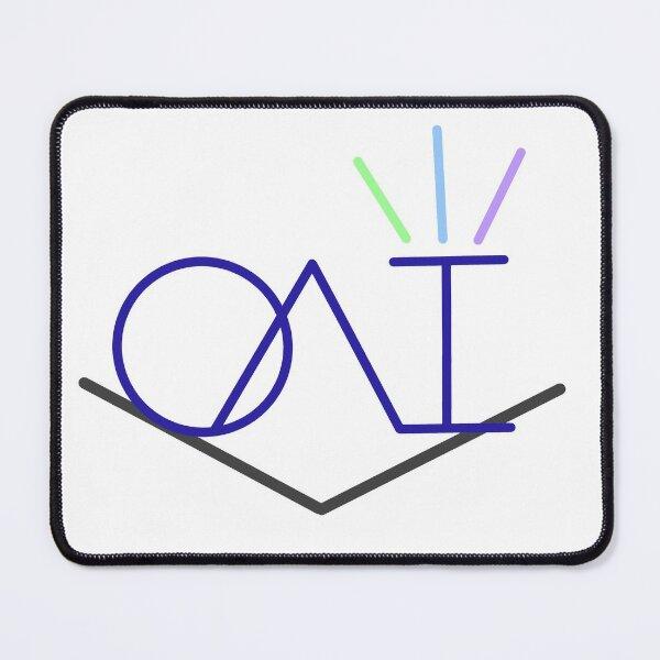 OAI Sticker Dark Mouse Pad