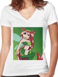 Betilla Women's Fitted V-Neck T-Shirt
