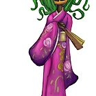 Bird Seed: Kimono Monster Pumpkin by karimuffin