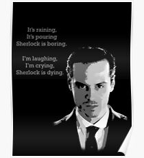 Sherlock Holmes Moriarty  Poster