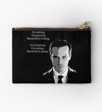 Sherlock Holmes Moriarty  Studio Pouch