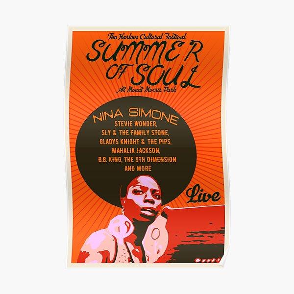 Nina Simone- Summer Of Soul Concert Poster Poster