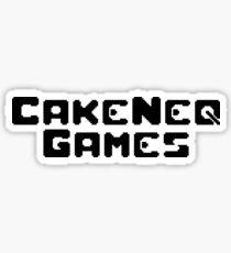 CakeNeq Games Logo Sticker