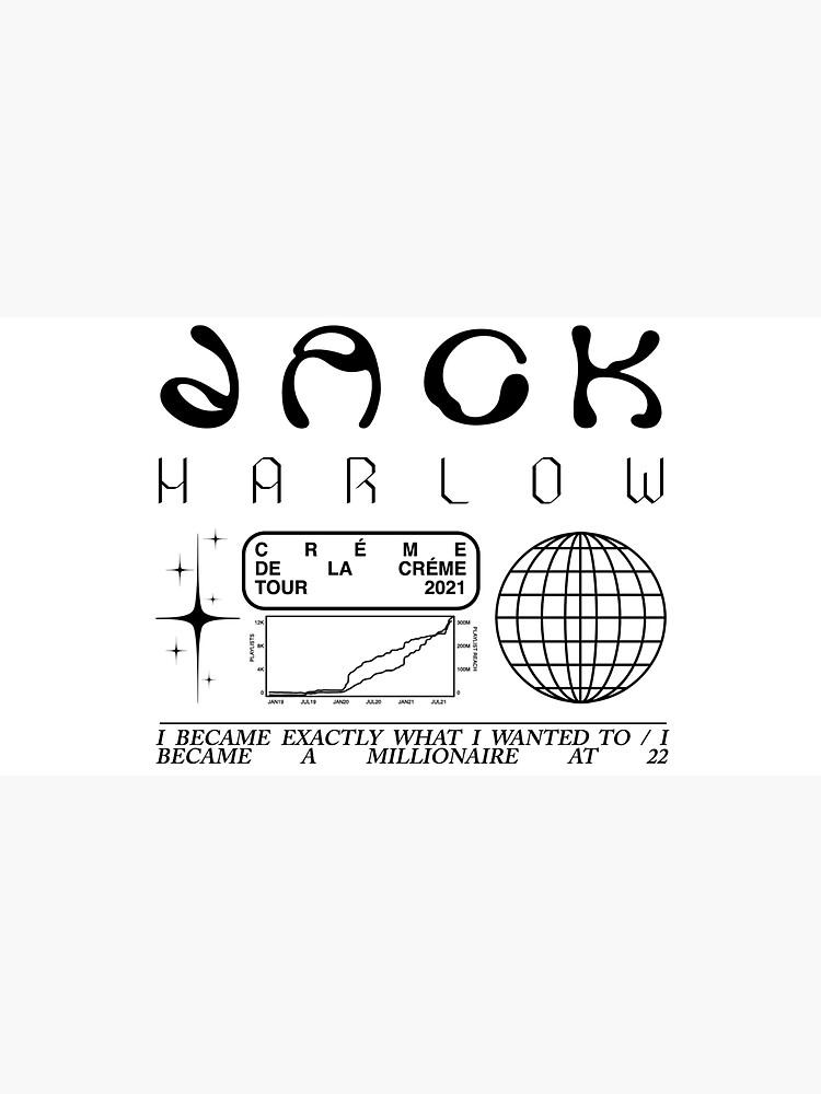 Jack Harlow Creme de la Creme Trippy Cool Artwork by mirmaids