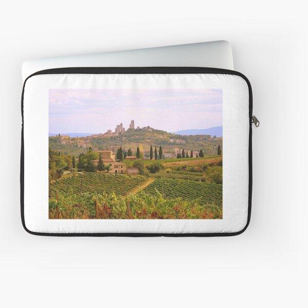 Approaching San Gimignano.................................Tuscany Laptop Sleeve