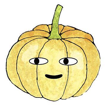 Funny Pumpkin by Nasalinhaler