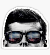 JFK Pop-Art (original design) Sticker