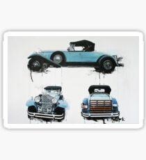 1930s Packard Sticker