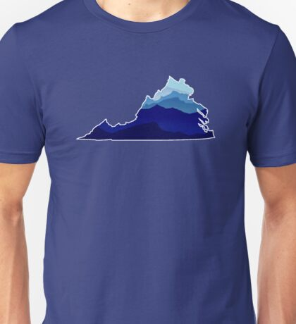 Virginia Mountains Unisex T-Shirt