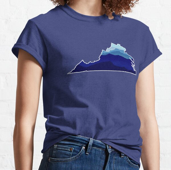 Virginia Mountains Classic T-Shirt