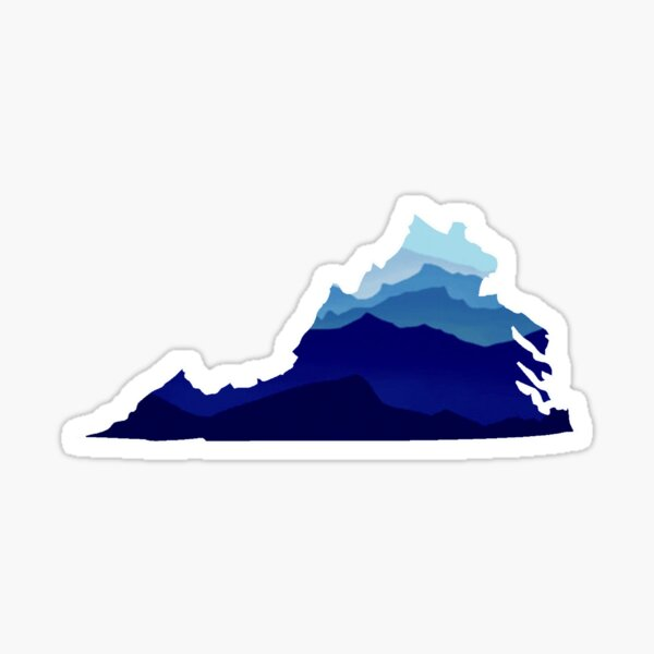 Virginia Mountains Sticker
