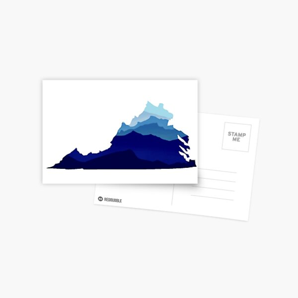 Virginia Mountains Postcard