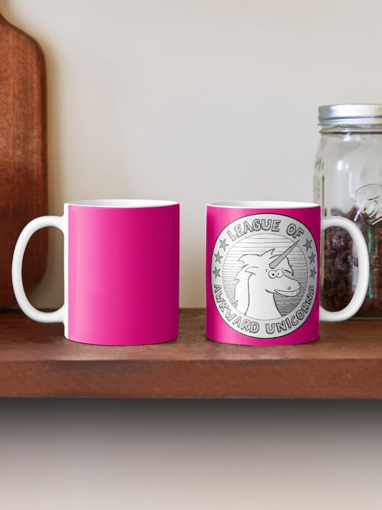 Alternate view of The League of Awkward Unicorns Official Gear Mug